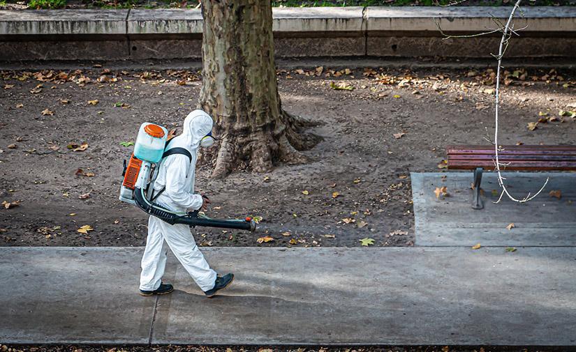 València organiza los equipos de desinfección en función de la incidencia de coronavirus detectada en las aguas residuales