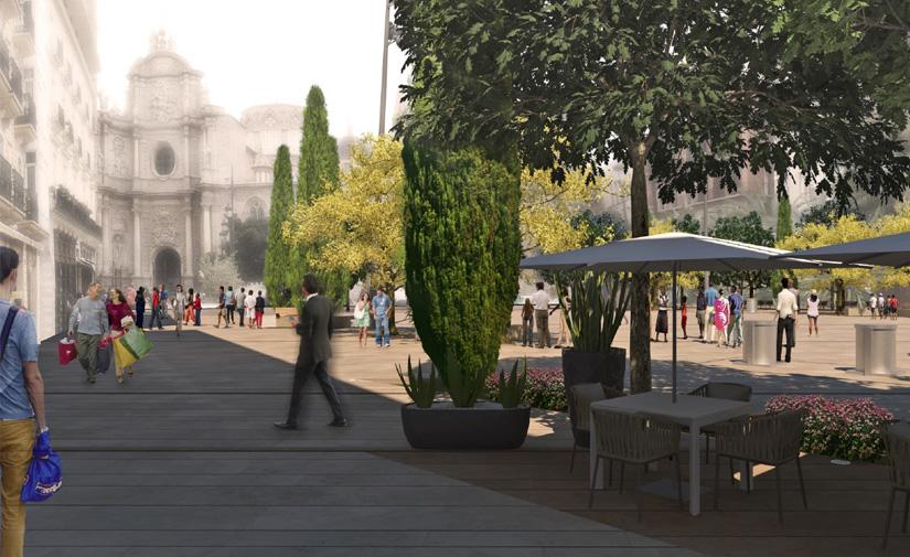 Valencia recibe más de tres millones de euros de fondos europeos para la reforma de la plaza de la Reina
