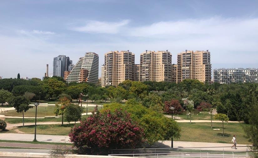 València suma 2.594 árboles desde el 2020