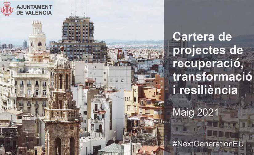 València trabaja para financiar con fondos europeos 18 programas valorados en 1.290 millones de euros