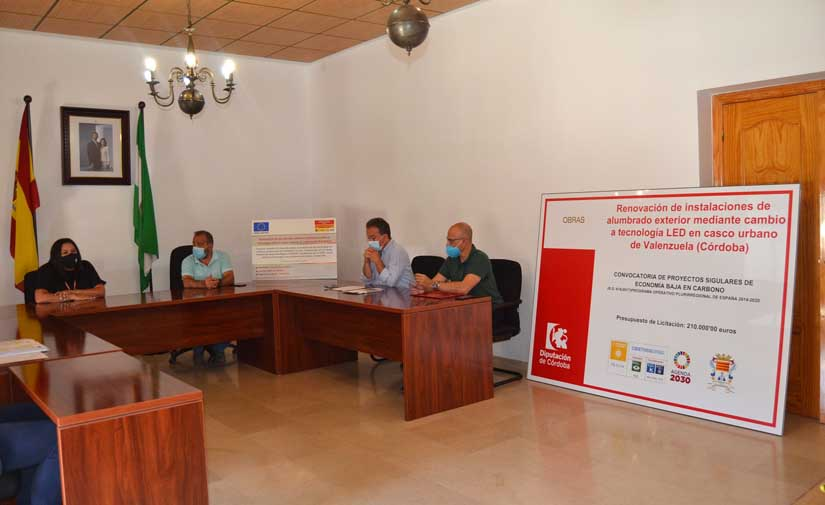 Valenzuela (Córdoba) renovará se prepara para el cambio a Led con una inversión de 210.000 euros