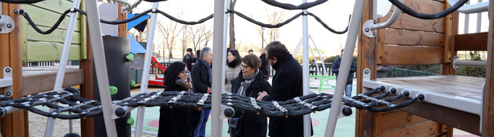 Madrid renueva 35 áreas infantiles e instala 54 nuevas áreas de mayores