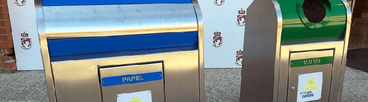Coslada inicia el proceso para renovar todos los contenedores soterrados de papel, cartón y vidrio