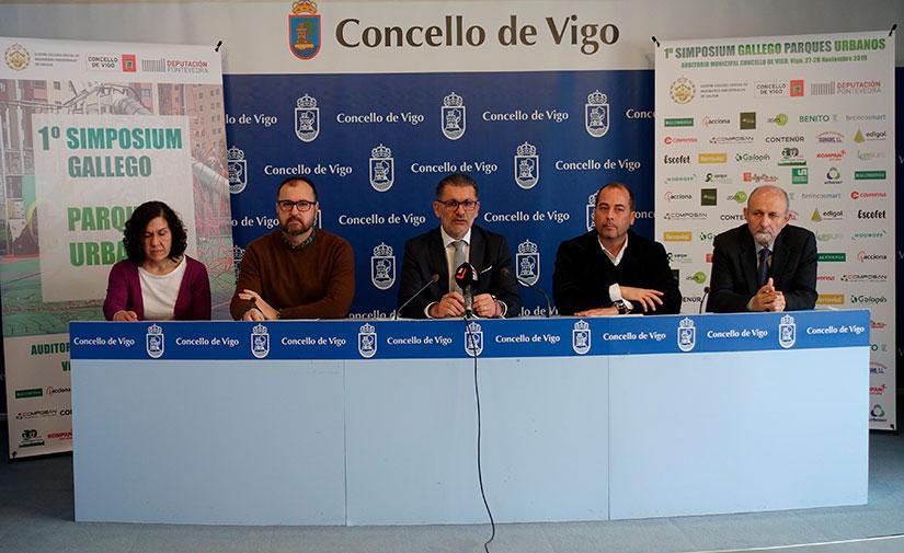 Vigo acoge el primer Simposio gallego sobre parques urbanos
