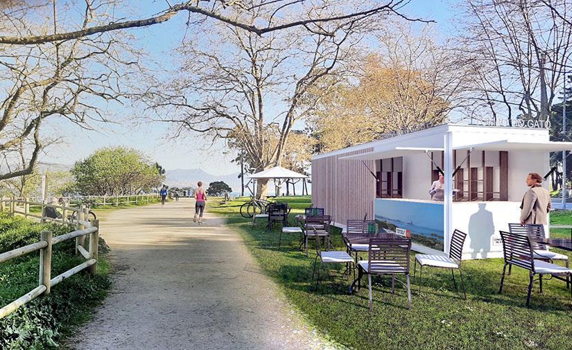 Vigo amplía sus kioscos de playa para Semana Santa y moderniza su diseño