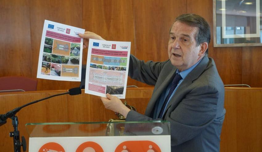 Vigo aprueba el proyecto de las rampas de Gran Vía a Plaza de España