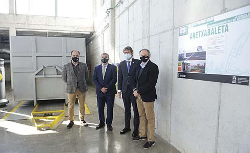 Vitoria-Gasteiz estrena una nueva planta de recogida neumática de residuos