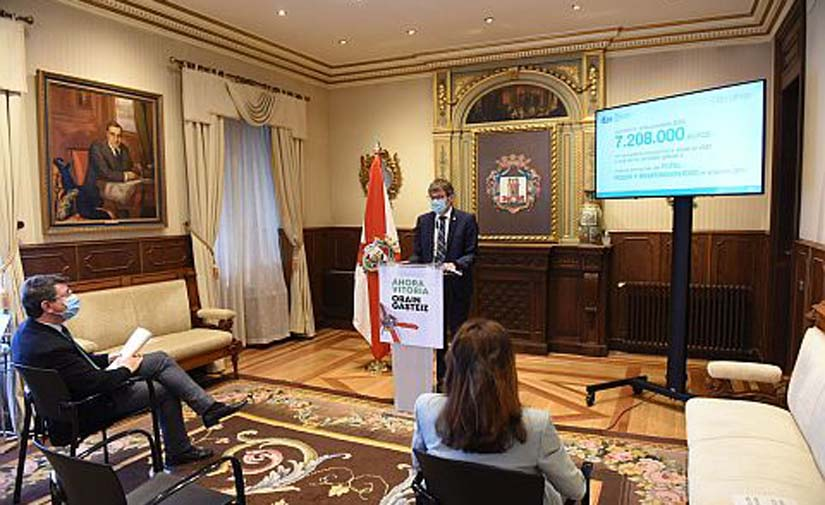 Vitoria presenta un Plan Extraordinario de Inversiones para dar respuesta a las principales demandas de la ciudadanía
