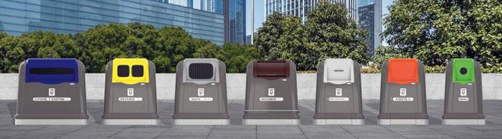 Sanimobel presenta en Ecofira sus nuevos modelos de contenedores ignífugos y 100% reciclables
