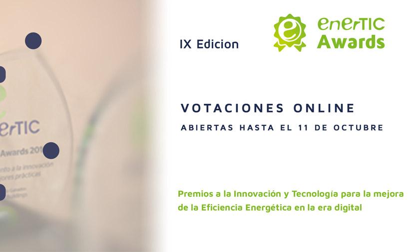 Votaciones abiertas para los proyectos candidatos a los enerTIC Awards 2021