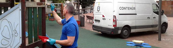 CONTENUR se adjudica el mantenimiento de las áreas infantiles de Sestao, Getxo y San Sebastián