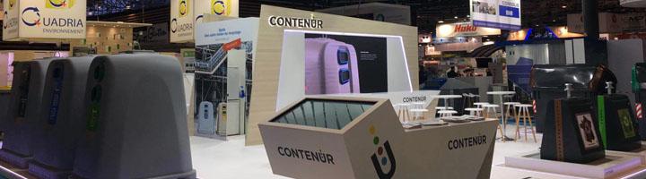 CONTENUR muestra soluciones tecnológicamente innovadoras en Pollutec