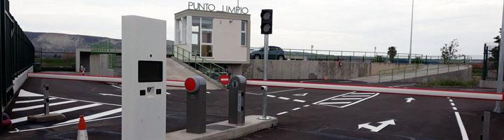 Utebo implanta una gestión informatizada de accesos y residuos en el punto limpio municipal