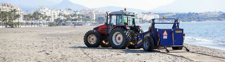 Estepona adjudica el nuevo contrato de mantenimiento de playas y jardines