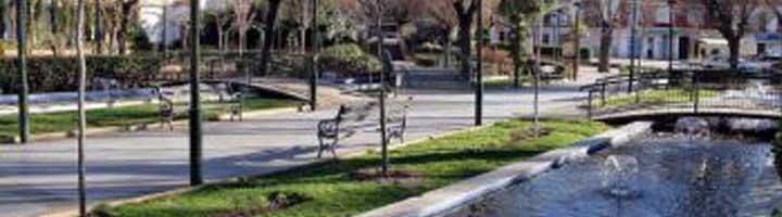 Concluyen los trabajos de mejora del Jardín Municipal de Almodóvar del Campo