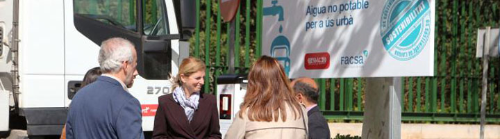 Castellón duplica la superficie de parques y zonas verdes regadas con agua regenerada