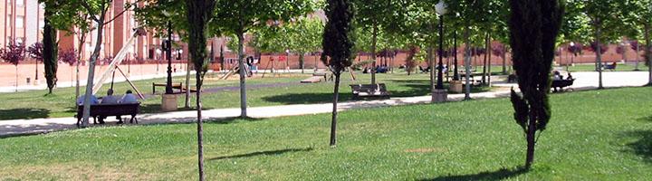 Soria amplía en 2.200 metros cuadrados la zona verde del parque de Los Pajaritos y abre un nuevo vial al tráfico