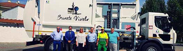 Brunete incorpora un camión recolector de residuos totalmente informatizado