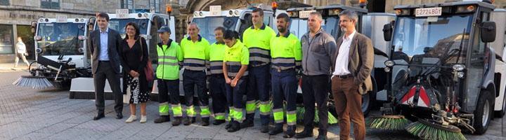 Pontevedra mejora el servicio de limpieza con la incorporación de seis nuevas máquinas