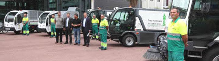 Sabadell comienza la renovación de la flota de vehículos de limpieza y recogida de resdiuos