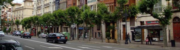 Logroño desarrolla un proyecto piloto de eficiencia energética en el alumbrado público de Avenida de la Paz