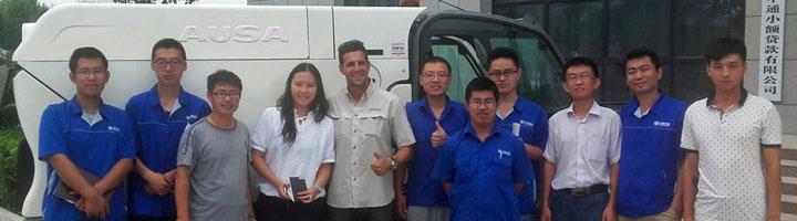 Ausa continua su aventura en China con su oficina en Beijing