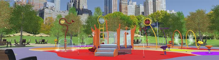 Acuatic Play presenta en TECMA su programa interactivo  de diseño de espacios Splash Park