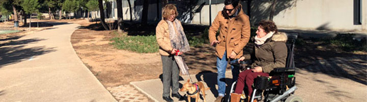 Paterna mejora la accesibilidad en el interior del parque de Más del Rosari
