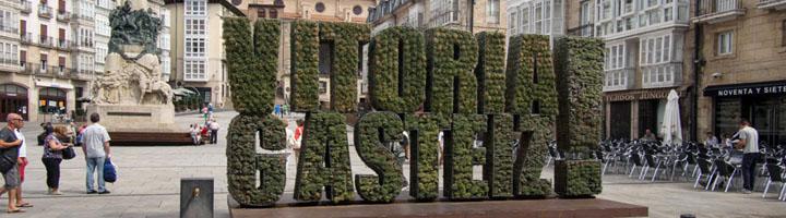 La plaza de España y la estación de autobuses de Vitoria cuentan ya con wifi público gratuito
