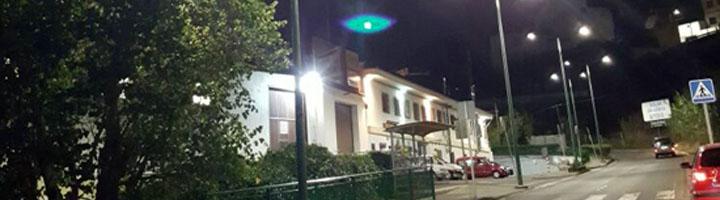 Teror ya se alumbra con tecnología LED en cinco barrios del municipio