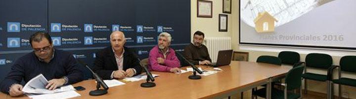 La Diputación de Palencia recibe 343 solicitudes de diferentes municipios para la convocatoria de Planes Provinciales 2016