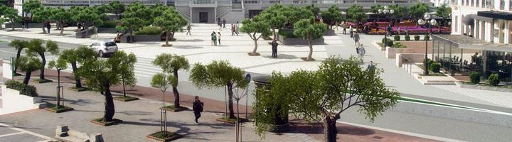 Santander comienza las obras de remodelación de la plaza de Italia y los Jardines de San Roque