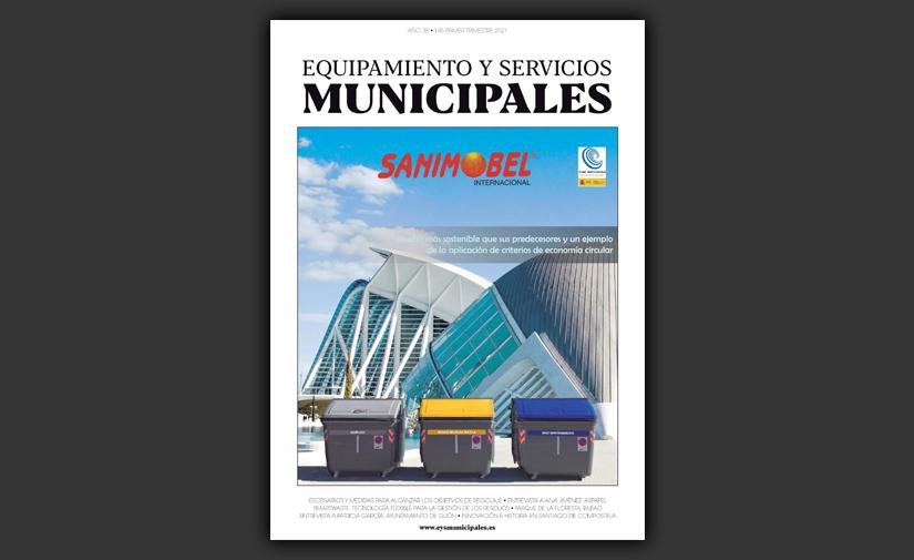 Ya disponible el número 195 de Equipamiento y Servicios Municipales