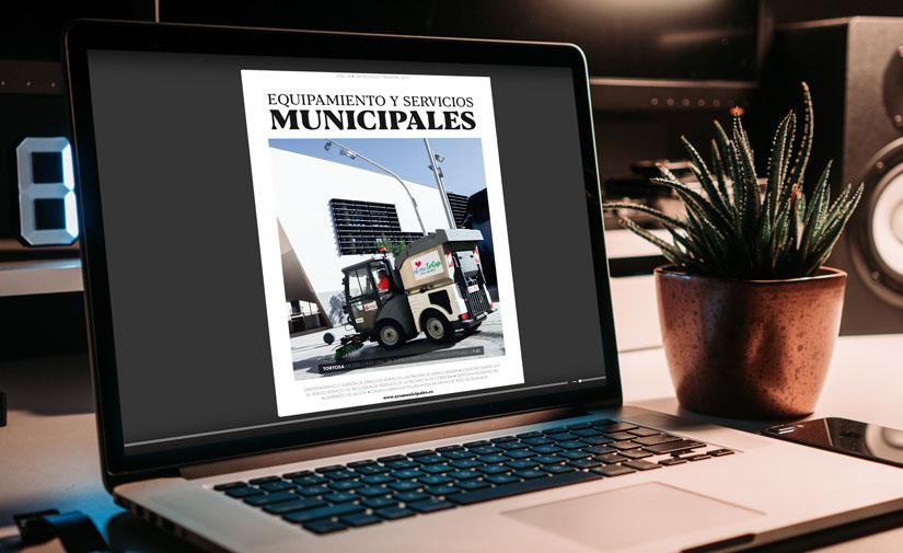 Ya disponible la edición digital del nº 188 de Equipamiento y Servicios Municipales