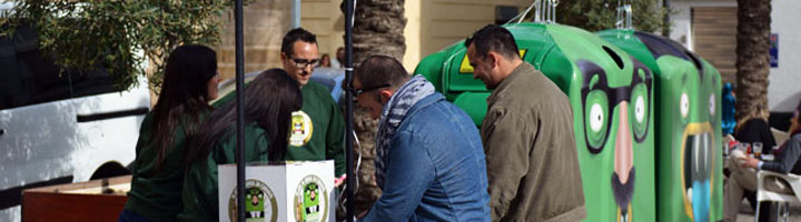 Cádiz y Ecovidrio activan el Programa 'Cádiz Recicla Vidrio'