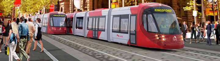 ACCIONA construirá un tren ligero en Sídney, un proyecto valorado en 1.400 millones de euros