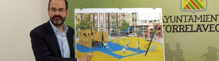 Torrelavega comienza las obras de la Plaza de la Llama y licita el primer parque canino del municipio
