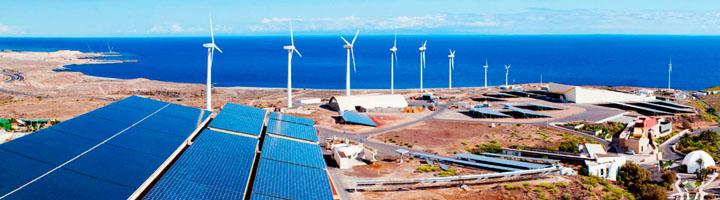 Canarias prevé multiplicar por cinco la producción eléctrica de origen renovable en las islas en el año 2025