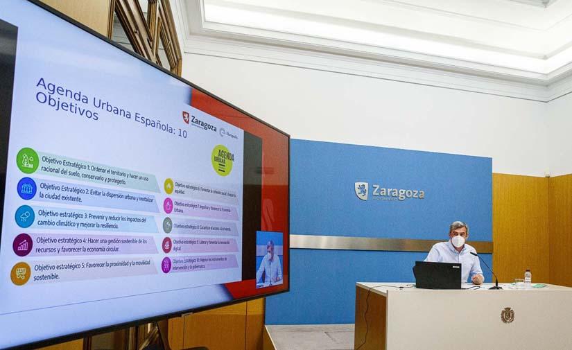 Zaragoza prepara su Agenda Urbana 2030, que estará lista en el último trimestre del año