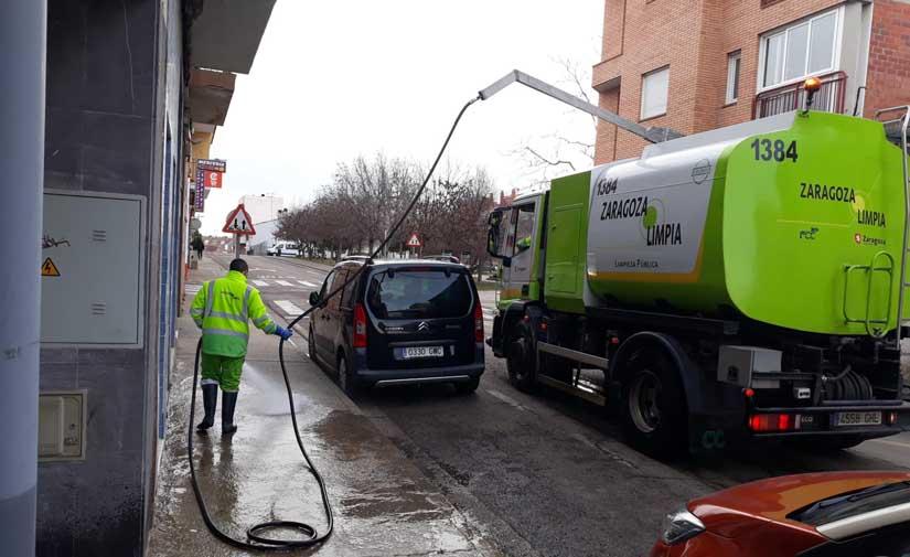 Zaragoza suma Oliver-Valdefierro a los diez planes extraordinarios de limpieza