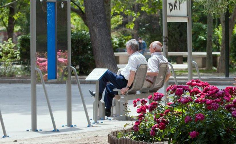 Zaragoza tendrá a finales de Agosto seis nuevos espacios de gimnasia destinados principalmente a personas mayores