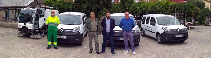 El Servicio de Limpieza Viaria de Torrelavega inicia la transición a vehículos eléctricos