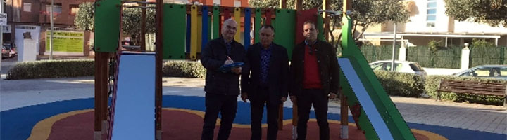 La Vila Joiosa invierte 43.108 euros en la mejora dos parques infantiles
