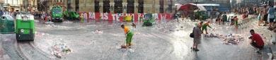 Los servicios de limpieza viaria, recogida y reciclaje de residuos urbanos en Bilbao