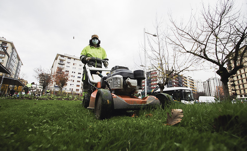 El mantenimiento de zonas verdes como contribución al desarrollo sostenible