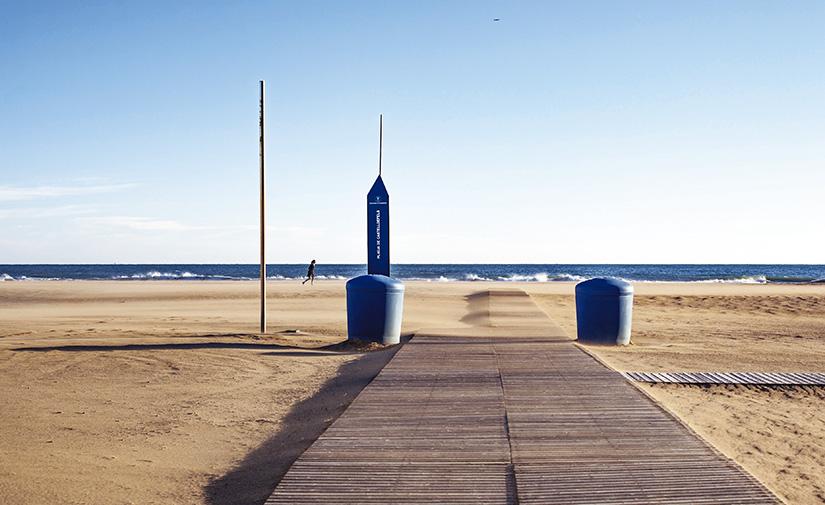 FCC Medio Ambiente y su apuesta tecnológica para la limpieza de las playas en el Área Metropolitana de Barcelona