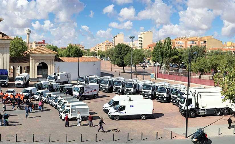 La limpieza viaria y recogida de residuos de Albacete