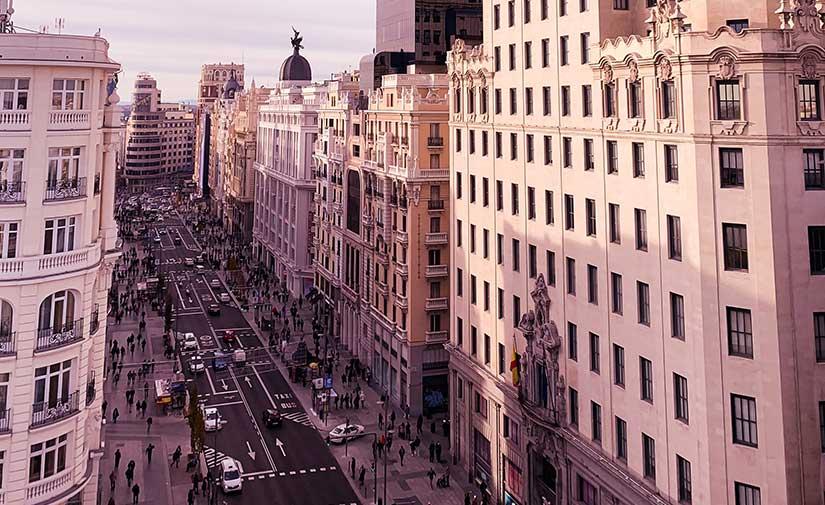 La nueva Gran Vía de Madrid, un espacio emblemático más amable con el ciudadano