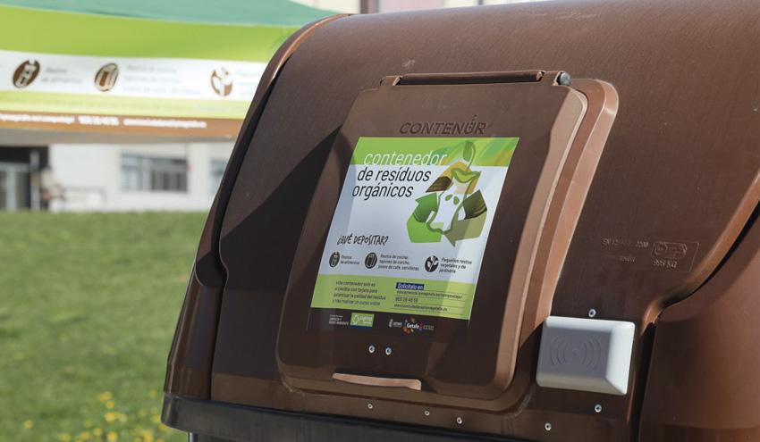 La recogida de biorresiduos es una realidad en Getafe