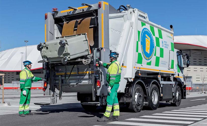 La recogida de residuos en la zona Este de Madrid, más sostenible y eficiente